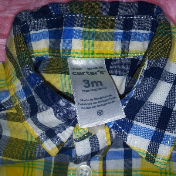 Carter's Other - Carters baby boy blouse